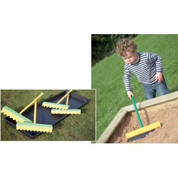 Giant Outdoor Pattern Scrapers, Age 3+, Set of 4