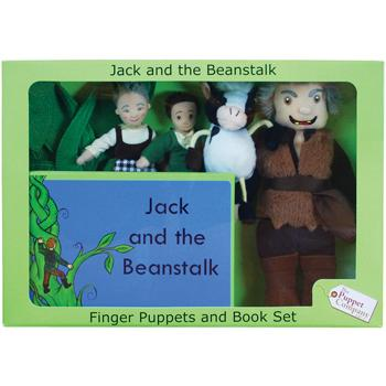 Puppet Sets, Jack and The Beanstalk, Set
