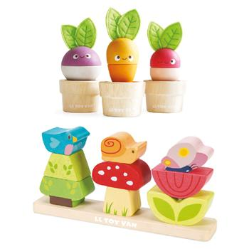 Stacking Garden & Veggies, Set