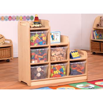 Playscapes(TM) Storage, Stepped Storage