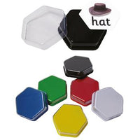 Hexagon Talking Tiles, Pack of 6