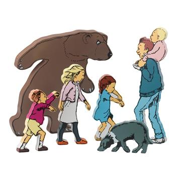 Character Sets, We're Going On A Bear Hunt, Age 3+, Set