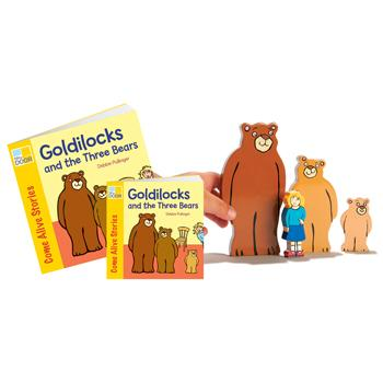 Traditional Tales Story Sets, Goldilocks and The Three Bears, Age 3+, Each