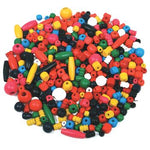 Beads, Wooden Craft, Pack of 125g
