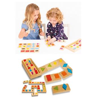 Shape Dominoes, Set