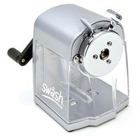 Pencil Sharpeners, Desk Top, Swash Heavy Duty, 7-12mm Hole, Each