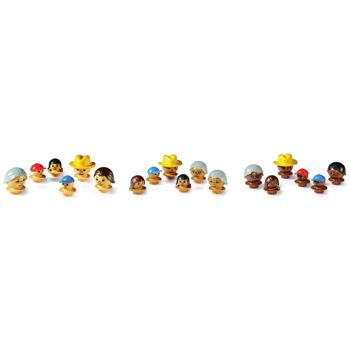 Mobilo, Heads, Ages 3+, Set of 3 Families