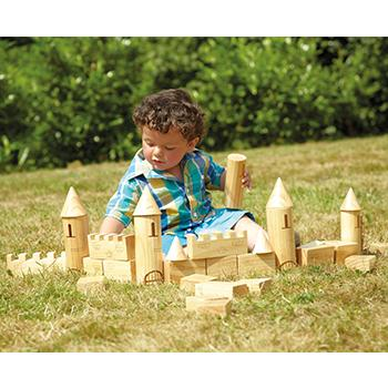 Creative Castle Construction, Age 10 Months+, Set Of 40 Pieces