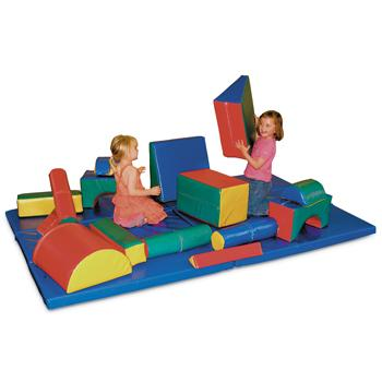 Soft Play Box & Mats, Set