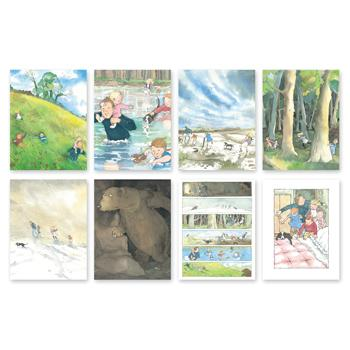 Outdoor Sequencing Cards, We're Going On A Bear Hunt, Age 3+, Set of 8 Cards