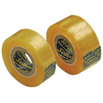 Sellotape(R) Original Tape, Small Core Rolls, 18mm x 33M, Pack of 8