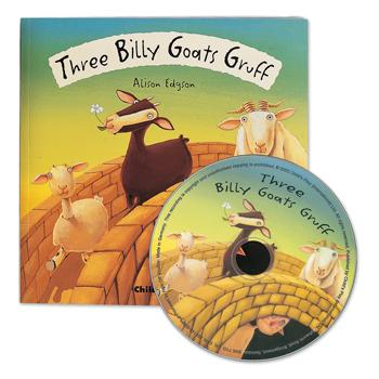 Fairytale Book & CD, Three Billy Goats Gruff, Set