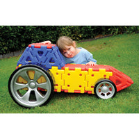 Giant Polydron, Vehicles Set, Age 2+, Set of 32 Pieces