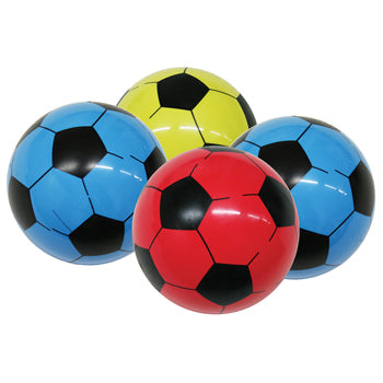 Vinyl Balls, Football, 215Mm Diameter, Pack of 4
