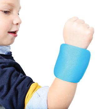 Blue Weighted Wrist Bands, 200g, Pair