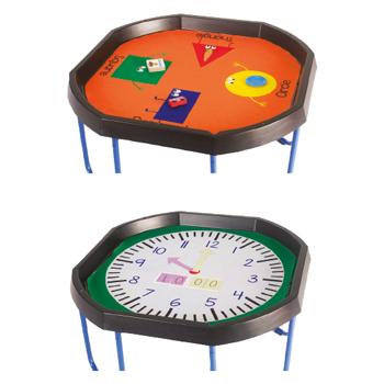 Tuff Tray Mats, Exploring Time/Shape, Each