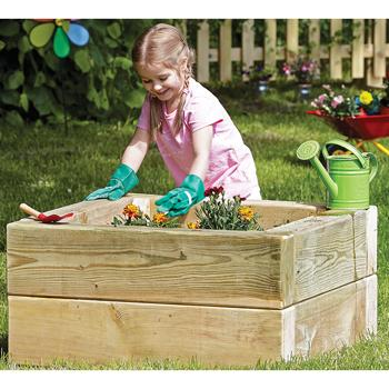 Wooden Garden Range, Single Planter, Each