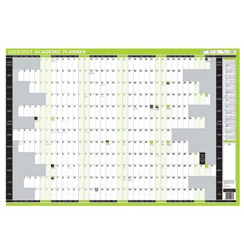 Academic Wall Planners, One Year to View, 855 x 610mm, Each