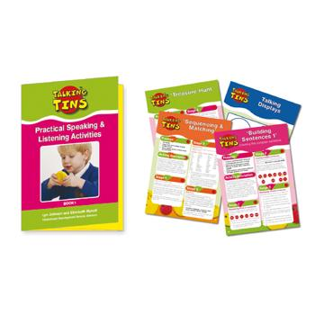 Talking Tins, Activity Book, Each