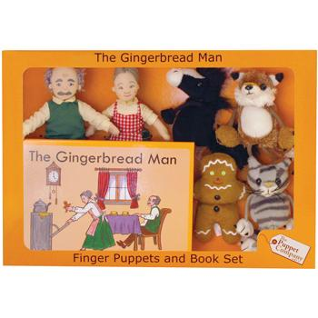 Puppet Sets, The Gingerbread Man, Set