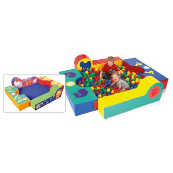 Soft Play, Ride On Den Square, Set