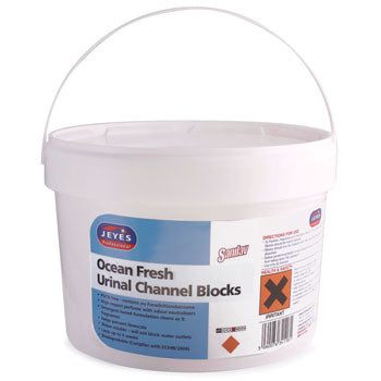 Toilet Cleaning, Sanilav Urinal Channel Blocks, Jeyes Professional, 3kg