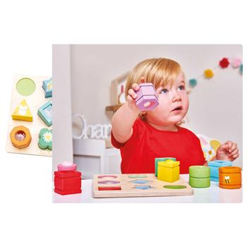 Sensory Shapes, Age 1-3, Set
