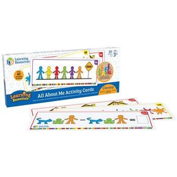 All About Me Family Counters Activity Cards, Age 3+, Set