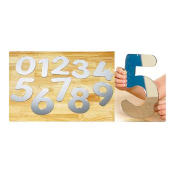 Number Mirrors, Set of 10