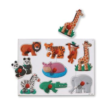 Peg Boards, Safari, Age 2+, Each