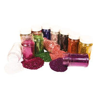 Glitter, Small Tubs, Single Colours, Tub of 250g