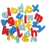 Sponge Foam Shapes, Lower Case Letters, Pack of 26