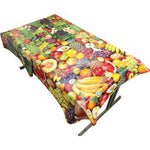 Fabric Backed, Fruit & Vegetable Designs, Pack of 2