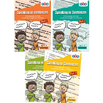 Speaking in Sentences Books, Book 4 (Years 5-8), Each