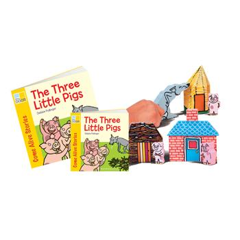 Traditional Tales Story Sets, The Three Little Pigs, Age 3+, Each