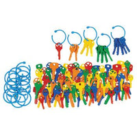 Counter Sets, Counting Keys, Age 3+, Set of 120