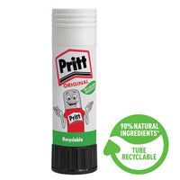 Glue Sticks, Pritt Stick, Medium, Pack of 6 x 22G Sticks