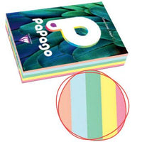 Tinted Copier Paper Range, Pastel Colours, Papago Range, Assorted