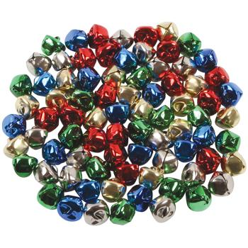 Jingle Bells, Assorted Colours, Pack of 80