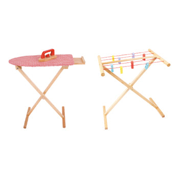 Role Play, Ironing Board and Clothes Airer, Set