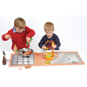 Role-Play Kitchen Furniture, Kitchen Playtop Mat, Each