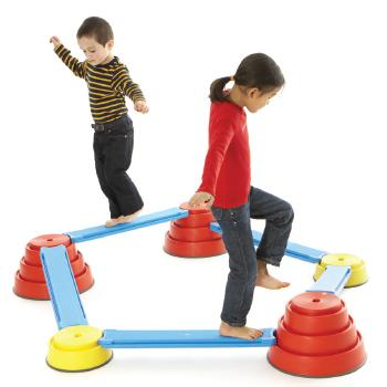 Physical and Motor Skills Development, Profile, Gonge, Build N' Balance, Starter Set, Age 2-10, Set
