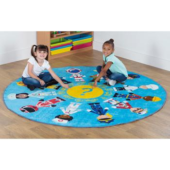 Professions Range, Circular Carpet, 2000mm diameter, Each