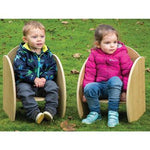 Duraplay Outdoor Range, Chairs, Age 0-3, Set of 2