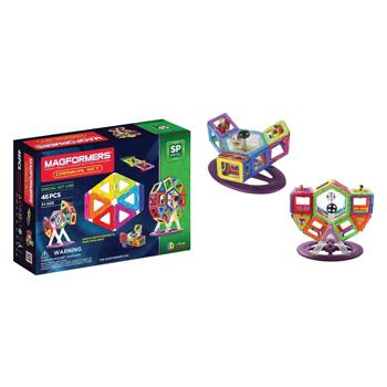 Magformers Carnival, Age 3+, Set of 46 Pieces