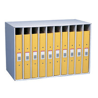 Corrugated Filing (Packed Flat), Ring Binder Module, Colour: Oyster, Pack of 5