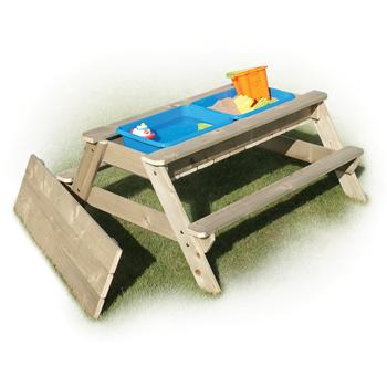 Picnic Table Sandpit, Age 3+, Each