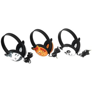 Individual Headphones, Animals, Zebra, Each