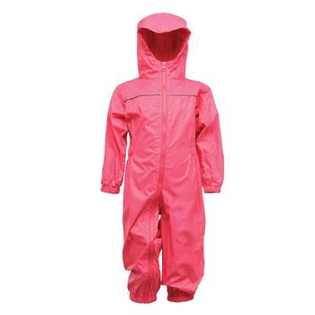Child's Waterproof Rainsuit, Pink