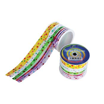 Easter Ribbon Selection, Pack of 2 Spools